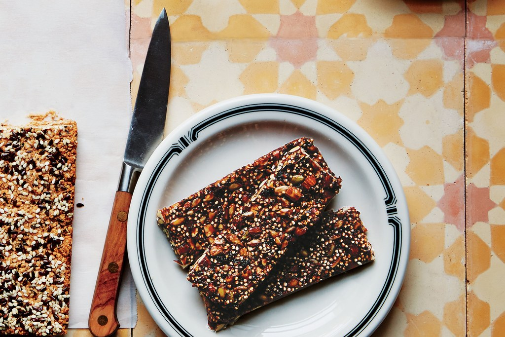 초라한 Cherry-Quinoa Bars