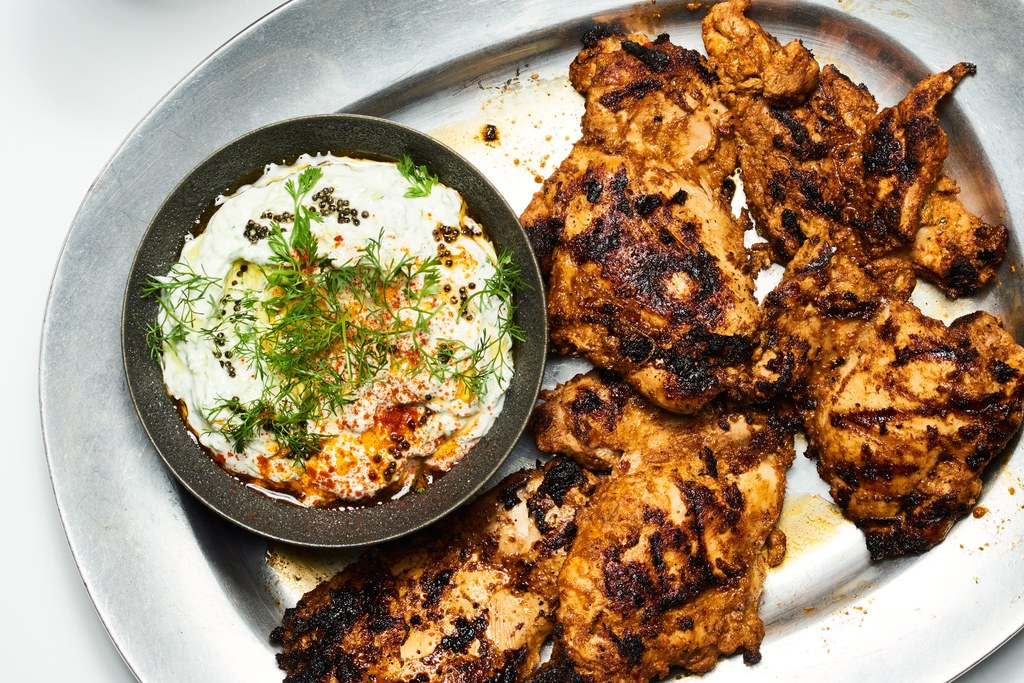 Chili and Yogurt Marinated Grilled Chicken