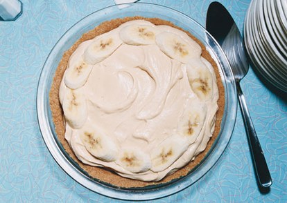 فرس peanut butter banana cream pie h
