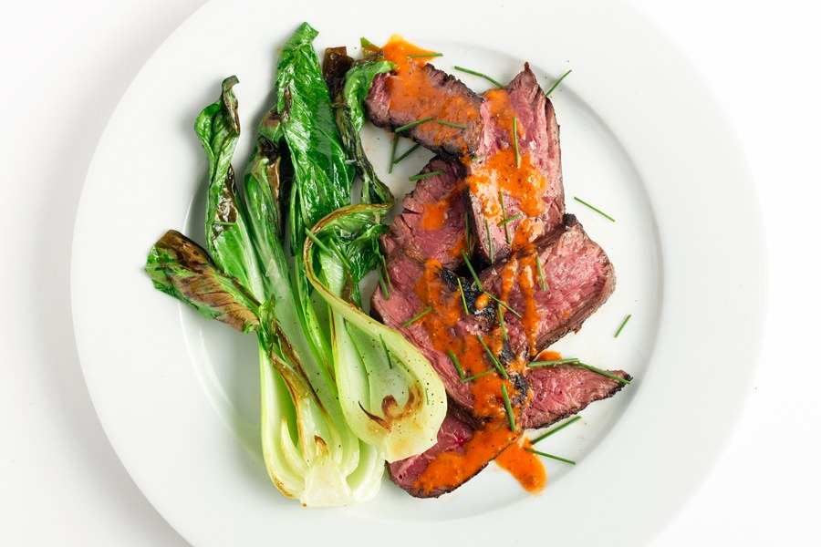 Ginger-Gemarineerde Hanger Steak