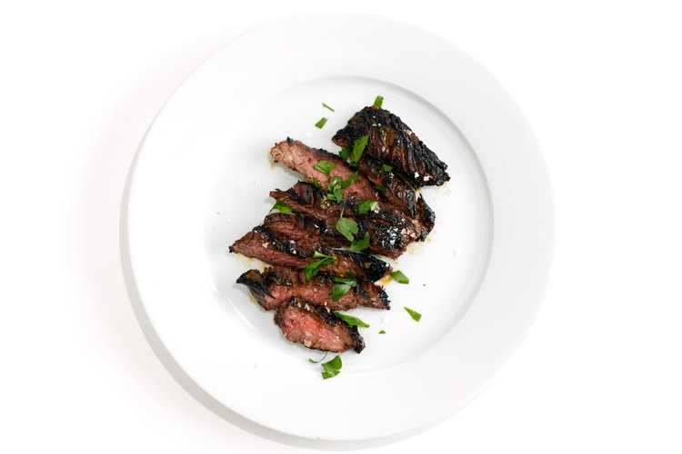 Coffee-Gemarineerde Skirt Steak