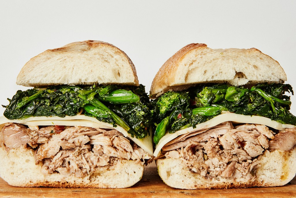 Slow-Cooker Roast Pork Sandwiches