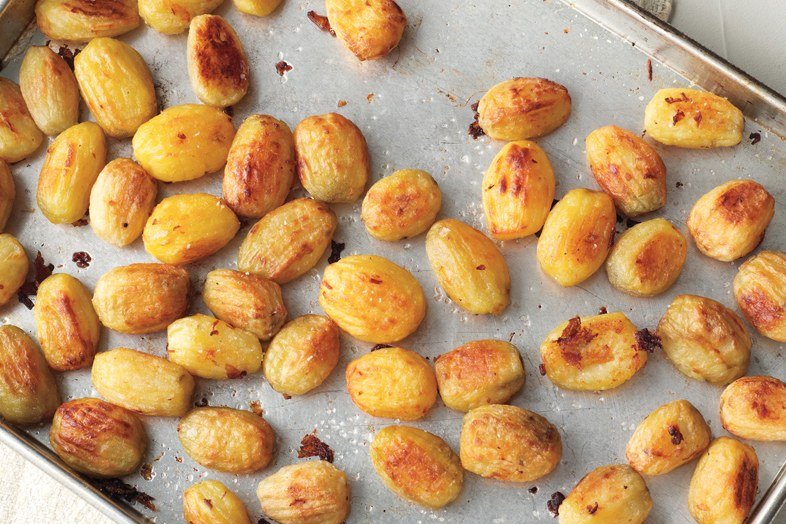 포크로 짠 Oven-Roasted Potatoes