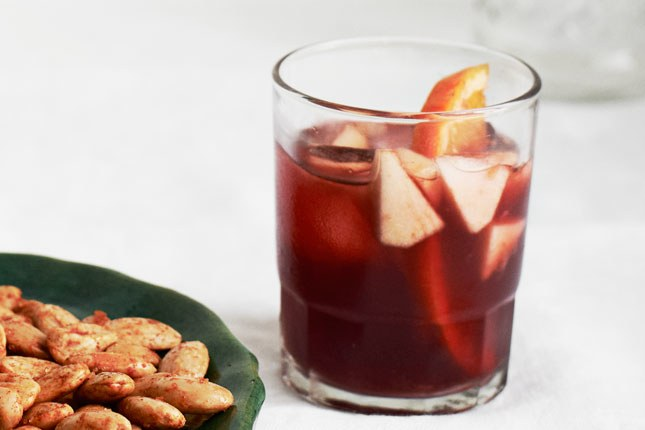 Žalias Apple Sangria
