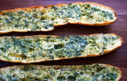 Ouderwets Garlic Bread