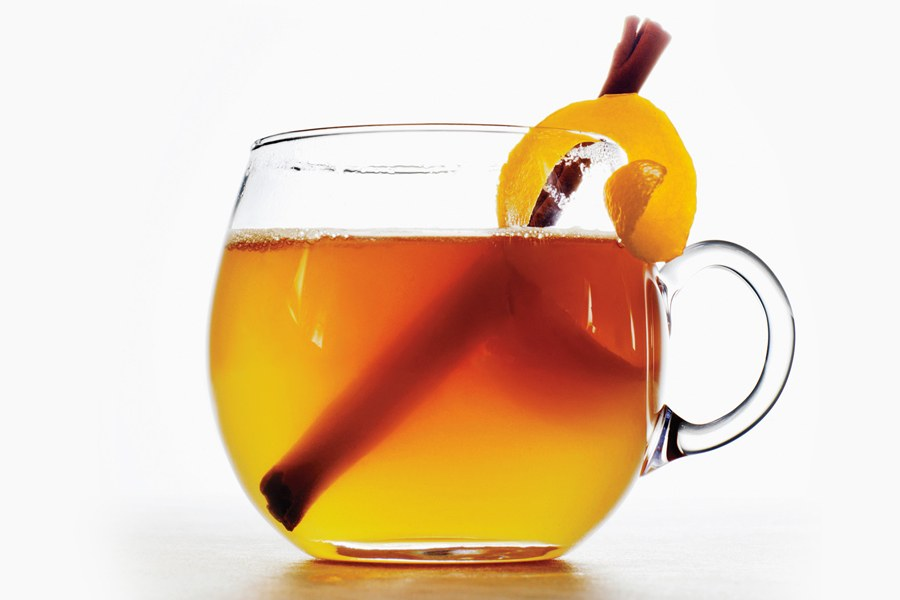 Med-Bourbon Toddy
