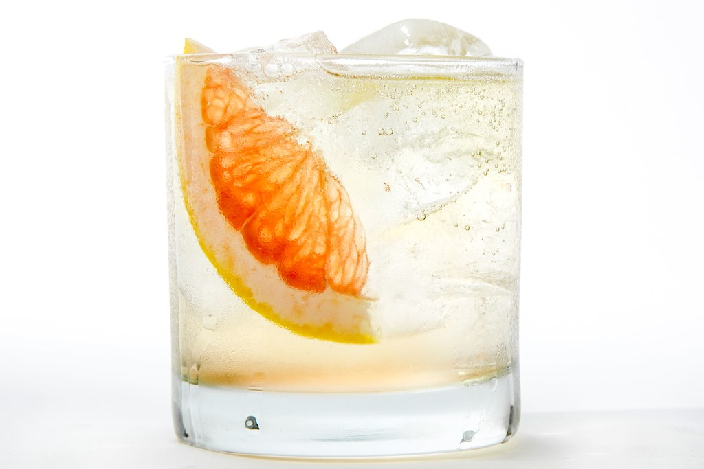 pjenušav Grapefruit Cocktail