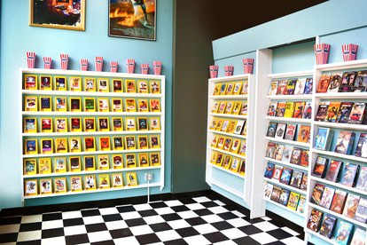 tarantino speakeasy video store