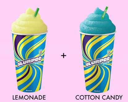 قطن candy lemonade slurpee