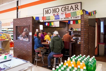 Saraga international grocery momo ghar