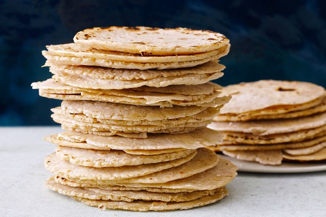 طازج Corn Tortillas