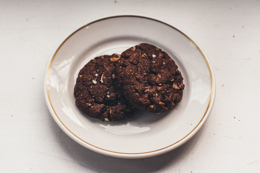 مزدوج and By Double I Mean Triple Chocolate Cookies