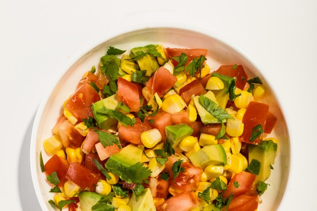 Pomodoro, Corn, and Avocado Salsa